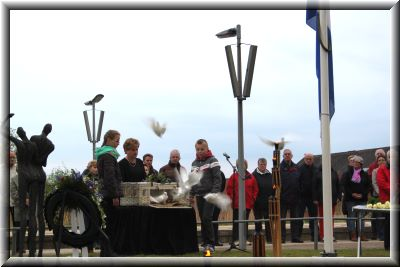 Herdenking 4 mei 2014 te Zuidbroek